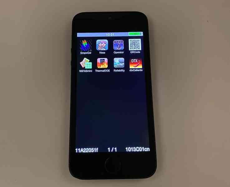 Phiên bản iPhone 5s chưa từng xuất hiện trên thị trường
