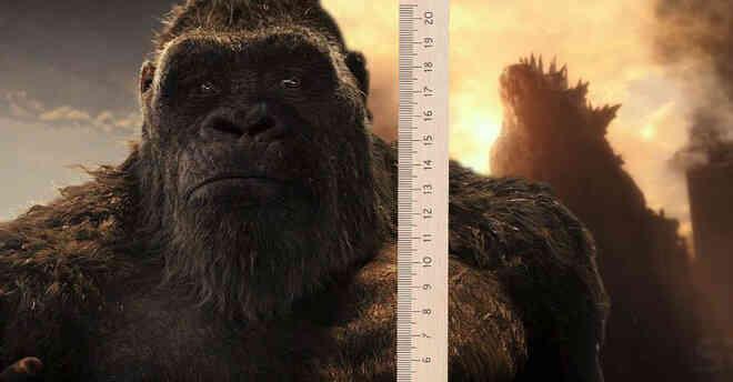 """Vì sao Kong bỗng chốc bự ngang Godzilla: Chú khỉ đột dậy thì thành công, hay vị Vua quái vật là hàng """"pha-ke"""" cỡ nhỏ?"""
