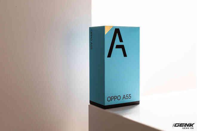 Trên tay OPPO A55 vừa ra mắt tại VN: Smartphone giá rẻ chỉ 4.9 triệu đồng nhưng có pin 5000mAh, camera 50MP, chống nước IPX4