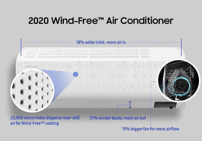 Tìm hiểu về công nghệ điều hoà không gió buốt siêu tiết kiệm điện của Samsung