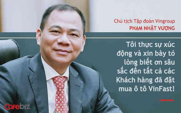 Chủ tịch Vingroup Phạm Nhật Vượng nói về xe điện VinFast: Tesla có cái gì, chúng tôi có cái đó!