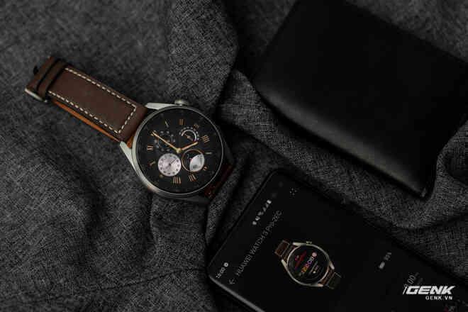 """Đánh giá Huawei Watch 3 Pro: Smartwatch dành cho người """"tay to"""" cả nghĩa đen lẫn nghĩa bóng"""