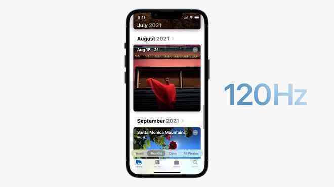 iPhone 13 Pro và iPhone 13 Pro Max chính thức ra mắt: Màn hình ProMotion 120Hz, bộ nhớ trong 1TB, quay video xoá phông, thêm màu xanh Sierra Blue - Ảnh 4.