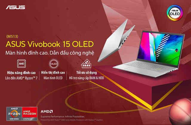 Màn hình OLED - Điểm nhấn công nghệ trên ASUS Vivobook M513