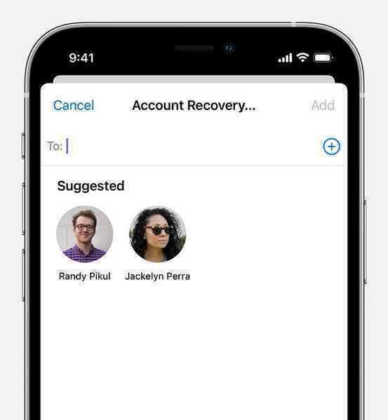 Hướng dẫn khôi phục mật khẩu Apple ID trên iOS 15 nhờ người thân