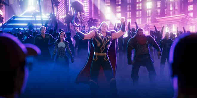 Những chi tiết thú vị trong tập 7 What If...?: Cơ trưởng Thor kéo quân đến Trái Đất để mở tiệc xuyên lục địa, suýt phá hủy cả hành tinh - Ảnh 3.