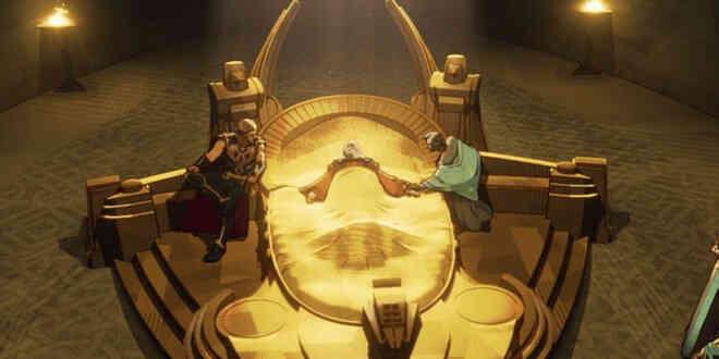 Những chi tiết thú vị trong tập 7 What If...?: Cơ trưởng Thor kéo quân đến Trái Đất để mở tiệc xuyên lục địa, suýt phá hủy cả hành tinh - Ảnh 6.