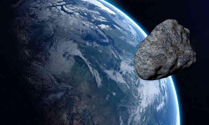 Tiểu hành tinh vận tốc 50.000 km mỗi giờ tới sát Trái Đất