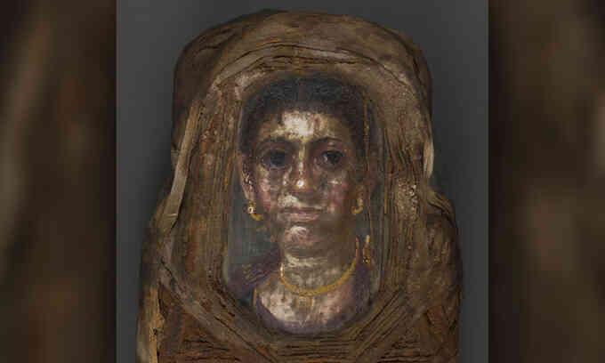 Bất ngờ bên trong xác ướp Ai Cập vẽ chân dung phụ nữ