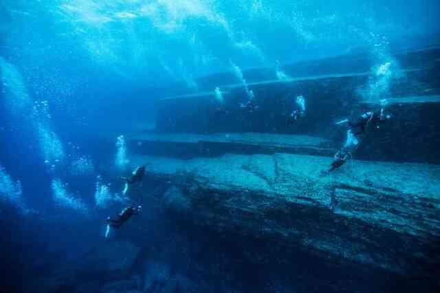 Kim tự tháp khổng lồ dưới đáy biển Bồ Đào Nha: Hải quân xuống điều tra
