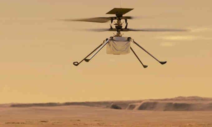 Trực thăng NASA lần thứ 14 cất cánh trên sao Hỏa