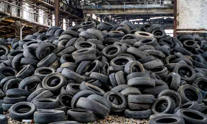 Graphene tạo từ lốp xe giúp bê tông bền hơn