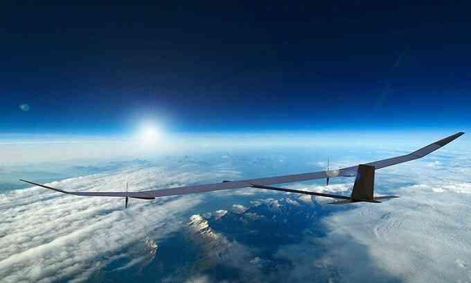 Drone năng lượng Mặt Trời có thể bay cao hơn 21.000 m