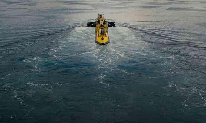 Turbine thủy triều mạnh nhất thế giới bắt đầu sản xuất điện