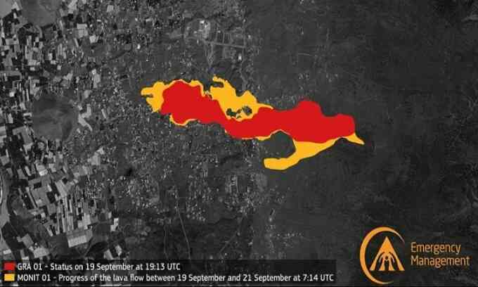 Vệ tinh ghi hình núi lửa thức giấc sau 50 năm